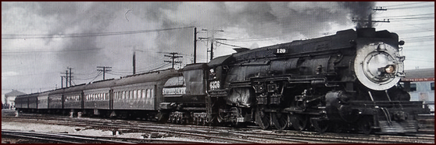 Footer image - Two Ten Train
